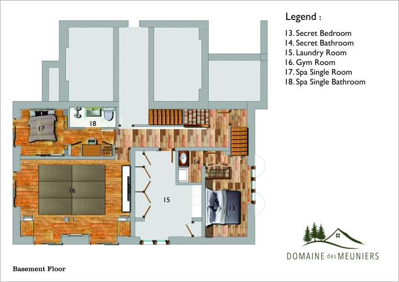 House plan - Basement Floor